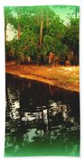 Florida Landscape Beach Towel by Susanne Van Hulst