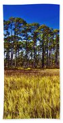 Florida Pine 3 Beach Towel