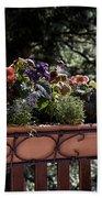 Flower Box Beach Towel