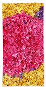 Flower Carpet Beach Towel