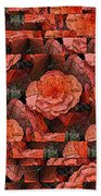 Flower Garden Delightful Beach Towel