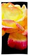 Flower Glow Beach Towel