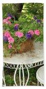 Flower Pot 4 Beach Towel
