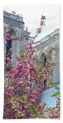 Flowering Notre Dame Beach Towel