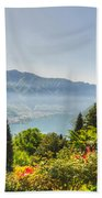 Flowers And Trees Beach Towel