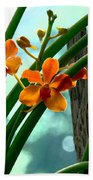 Flowers In Spring Beach Towel