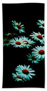 Flowers Only Beach Towel