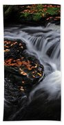 Flowing Through Fall Color Beach Towel
