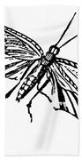 Flying Insect Beach Towel