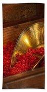 Food - Candy - Hot Cinnamon Candies  Beach Towel