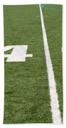 Football Field Forty Beach Towel