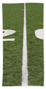 Football Field Twenty Beach Towel