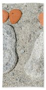 Footprints Beach Towel