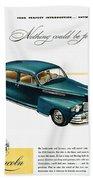 Ford Lincoln Ad, 1946 Beach Towel