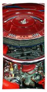 Ford Mustang Engine Bay Beach Towel