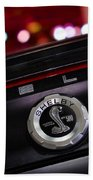 Ford Mustang Shelby Gt500 Super Snake  Beach Towel