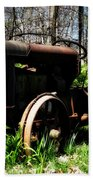 Fordson Tractor Beach Towel