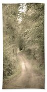Forest Path Beach Towel by Svetlana Sewell