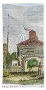 Fort Dearborn, 1830 Beach Towel
