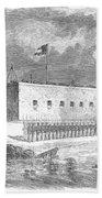 Fort Pulaski, Georgia, 1861 Beach Towel