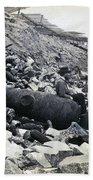 Fort Sumter Civil War Debris - C 1865 Beach Towel