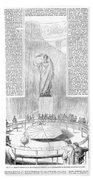 Foucaults Pendulum, 1851 Beach Towel