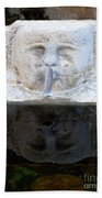 Fountain Face Beach Towel