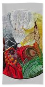 Four Directions  2 Beach Towel by Arla Patch