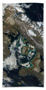 Foxe Basin, Northern Canada Beach Towel by Stocktrek Images