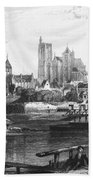 France: Bourges Beach Towel