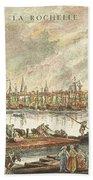 France: La Rochelle, 1762 Beach Towel
