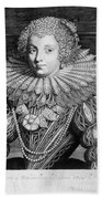 France: Noblewoman Beach Towel