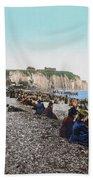 France: Resort, C1895 Beach Towel