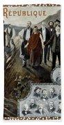 France: Socialism, 1900 Beach Towel