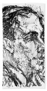 Francis Ponge (1899-1988) Beach Towel