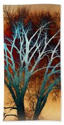 Freaky Tree 1 Beach Towel
