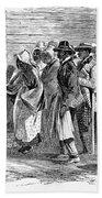 Freedmens Bureau, 1866 Beach Towel