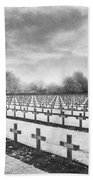 French Cemetery Beach Towel by Simon Marsden