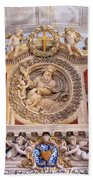 French Church Detail Beach Towel