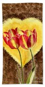 From Tulip With Love Beach Towel