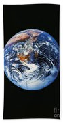 Full Earth From Space Beach Towel