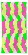 Funky Stripes Beach Towel
