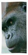 Funny Gorilla Beach Towel