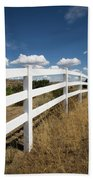 Galloping Fence Beach Towel