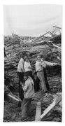 Galveston Disaster - C 1900 Beach Towel