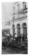 Galveston Flood - September - 1900 Beach Towel by International  Images