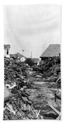 Galveston Flood Debris - September - 1900 Beach Towel by International  Images