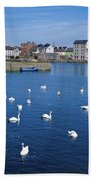 Galway, County Galway, Ireland Beach Towel