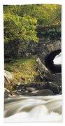 Galways Bridge, Killarney National Beach Towel