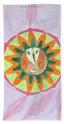 Ganesh Mandala Beach Towel by Sonali Gangane